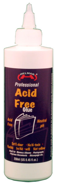 Acid Free Glue 250ml