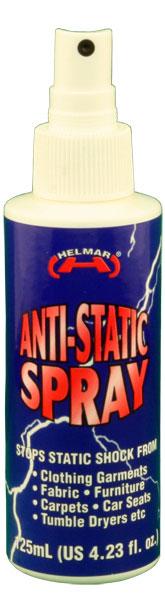 Anti-Static Spray 125ml