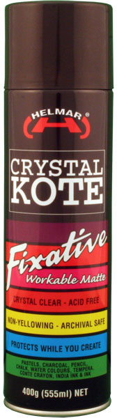 Crystal Kote Fixative Spray 400g