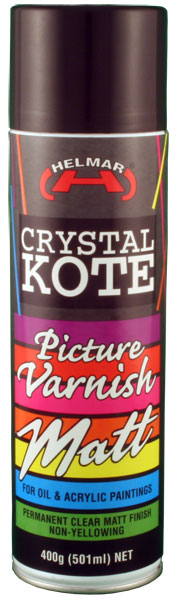 Crystal Kote Picture Varnish Matte Spray 400g