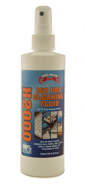 H2000 ISO PRO Cleaning Fluid 250ml spray