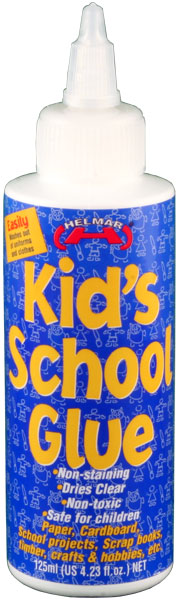 Kid's PVA School Glue 125ml