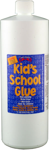 Kid's PVA School Glue 1L