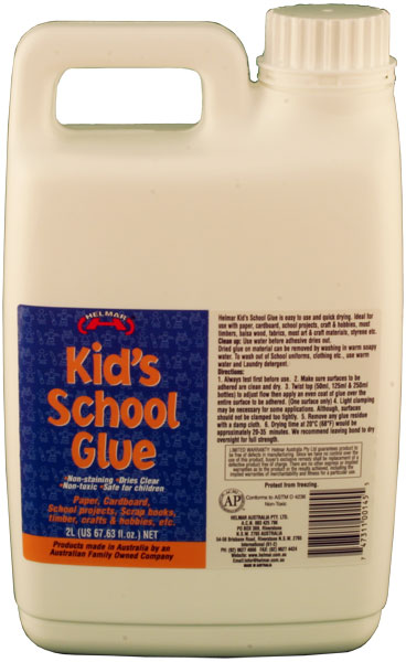 Kid's PVA School Glue 2L
