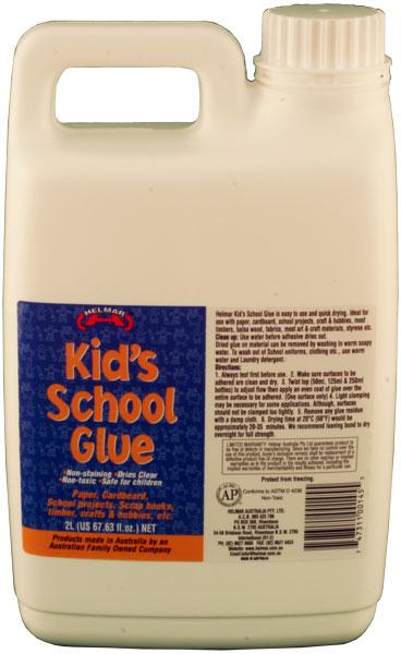 Kid's PVA School Glue 2L
