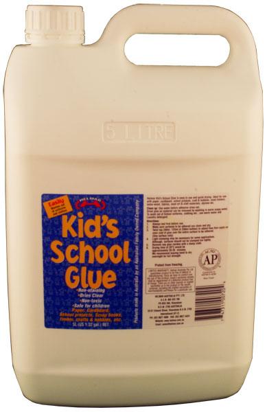Kid's PVA School Glue 5L