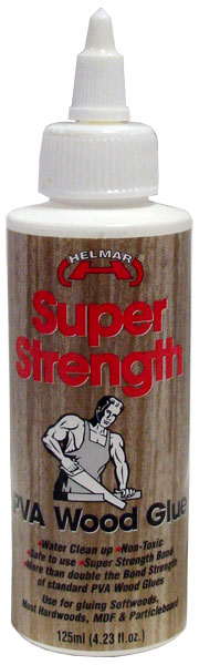 Super Strength PVA Wood Glue 125ml