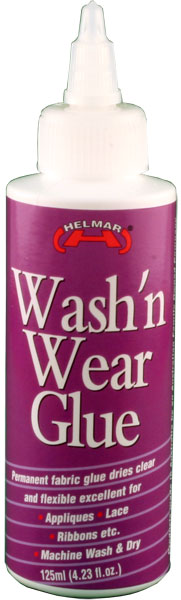 Wash'n Wear Glue 125ml