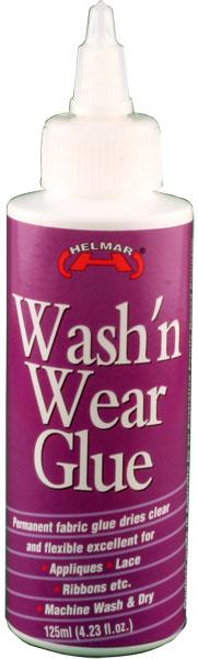 Wash'n Wear Glue 125ml